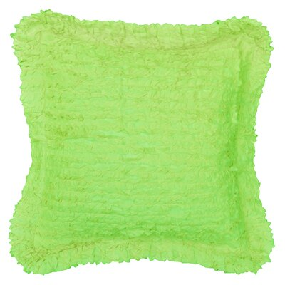 Lauren Throw Pillow Color: Lime