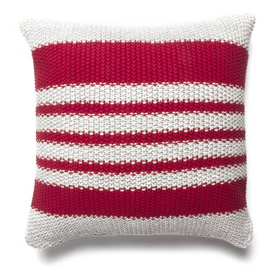 Martin Knitted 100% Cotton Throw Pillow