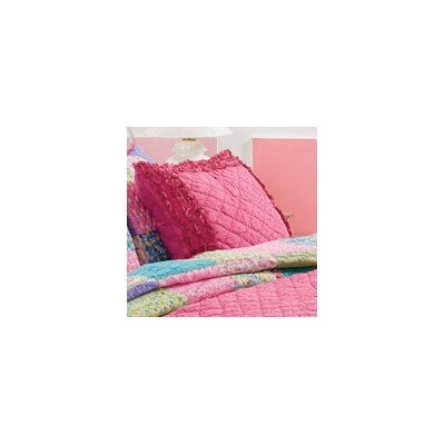 Pink Chelsea Sham Size: King