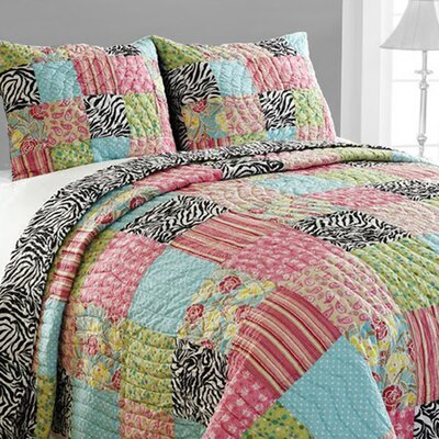 Zebra Quilt Set Size: Queen