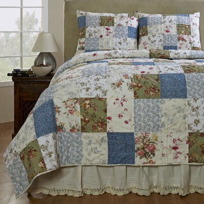 Campanille Quilt Set Size: King