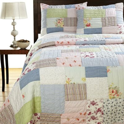 Lattice Quilt Set Size: King