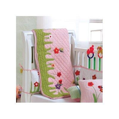 Ladybug Baby Quilt CC437B