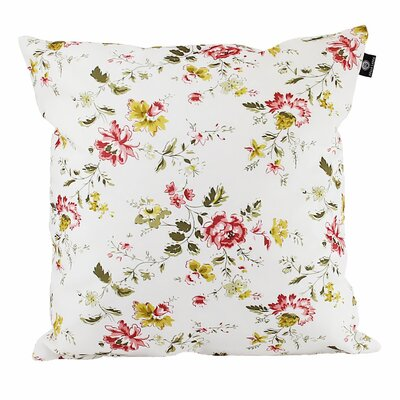 Ishiro Cotton Pillow Cover Color: Red/Yellow/White