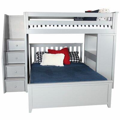 Alvarez Staircase Combo Twin Over Full Loft Bed