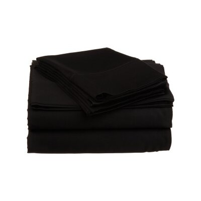 Andrews Pillow Case Size: King, Color: Noir