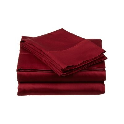 Andrews Pillow Case Size: King, Color: Ox Blood