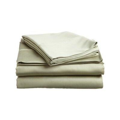 Andrews Pillow Case Size: Standard, Color: Artichoke