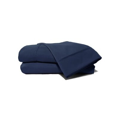 Andrews Pillow Case Size: Standard, Color: Naval
