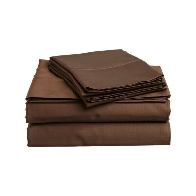 Andrews Pillow Case Size: King, Color: Umber