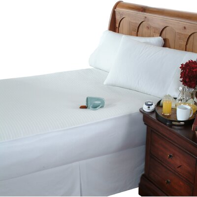 Electric 0.5 Polyester Mattress Pad Size: Queen