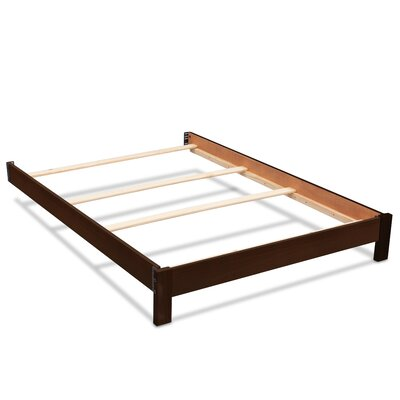 Bed Frame Color: Dark Chocolate