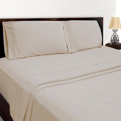 Premium Sheet Set Color: Tan, Size: Full