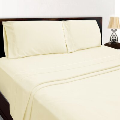 Premium Sheet Set Color: Sand, Size: King