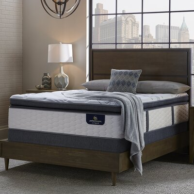 Glendower Firm Adjustable Base Innerspring Mattress Size: California King
