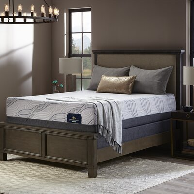 "Perfect Sleeper 14"" Plush Hybrid Mattress and Box Spring Mattress Size: Queen, Box Spring Height: Low Profile"