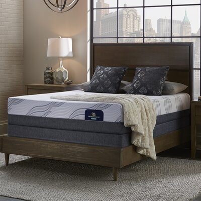 "Perfect Sleeper 12"" Medium Hybrid Mattress and Box Spring Mattress Size: Queen, Box Spring Height: Low Profile"