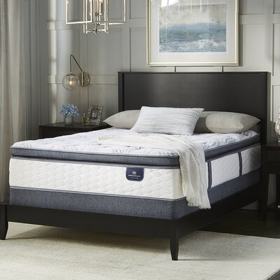 Broadview Plush Adjustable Base Innerspring Mattress Size: California King