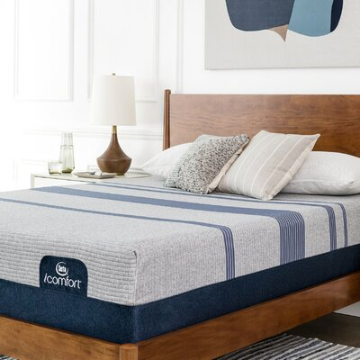 American home decor and furniture store - iComfort Max 3000 14 inch Plush Gel Memory Foam Mattress and Box Spring - Mattress Size: Queen, Box Spring Height: Stand - Foam and Latex Mattresses Mattresses