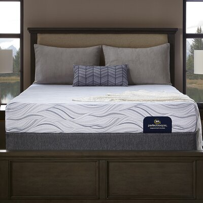 "Perfect Sleeper 9"" Medium Memory Foam Mattress and Box Spring Mattress Size: Twin, Box Spring Height: Low Profile"