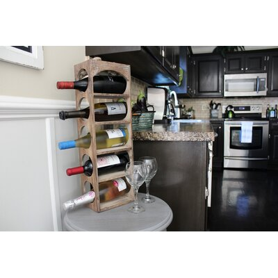 Bryce 5 Bottle Tabletop Wine Rack