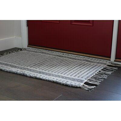 Wharton Hand-Woven Light Gray Area Rug