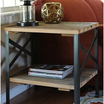Christiansen Handcrafted Reclaimed Wood End Table