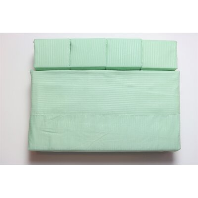 Kilburn Microfiber Sheet Set Size: Queen, Color: Sage