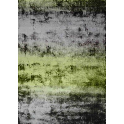 Grace Green Area Rug Rug Size: 57 x 79