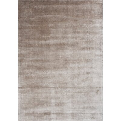 Lucens Hand-Loomed Beige Area Rug Rug Size: 66 x 98