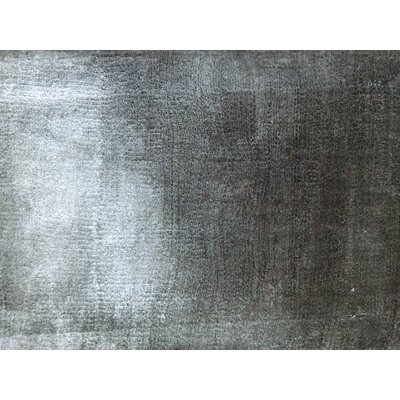 Lucens Hand-Loomed Silver Area Rug Rug Size: Rectangle 57 x 79