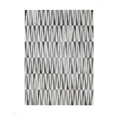 Opal Gray Area Rug Rug Size: Rectangle 57 x 79