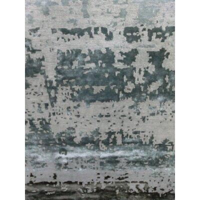 Varese Hand-Loomed Gray Area Rug Rug Size: 83 x 116