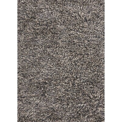 Betona Black Area Rug Rug Size: 57 x 79