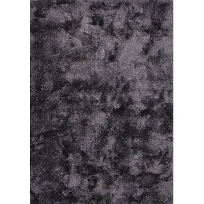 Maltino Dark Grey Area Rug Rug Size: 66 x 98