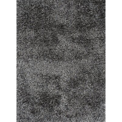 Ronaldo Grey Area Rug Rug Size: Rectangle 98 x 131