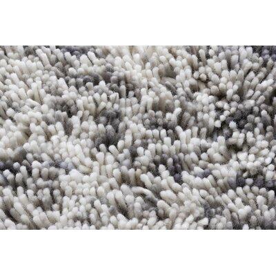 Coral Grey Rug Rug Size: 57 x 79