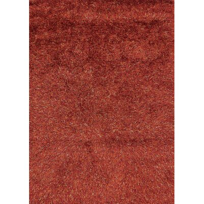 Sprinkle Orange Area Rug Rug Size: 53 x 77