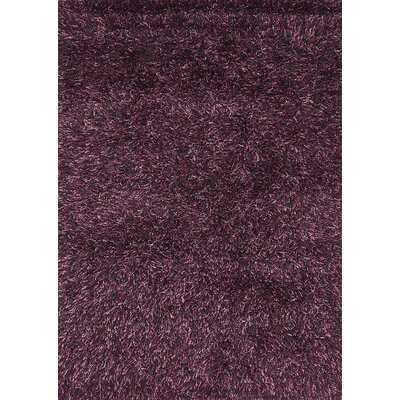 Sprinkle Purple Area Rug Rug Size: 53 x 77