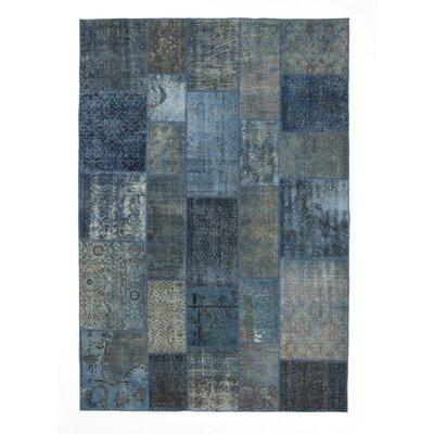 Century Blue Area Rug Rug Size: 57 x 79