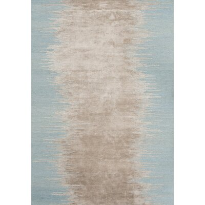 Noam Hand-Loomed Aqua Area Rug Rug Size: Rectangle 66 x 98