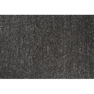 Comfort Charcoal Area Rug Rug Size: 66 x 98