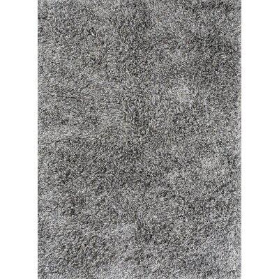 Ronaldo Light Grey Area Rug Rug Size: 66 x 98