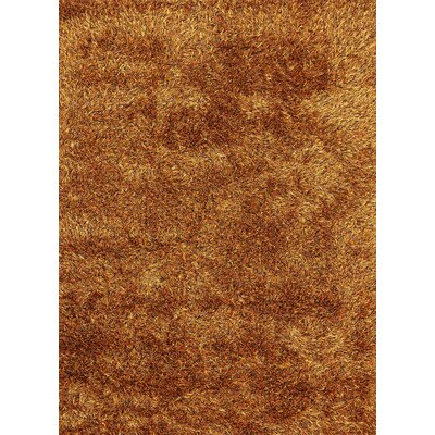 Ronaldo Orange Area Rug Rug Size: 66 x 98