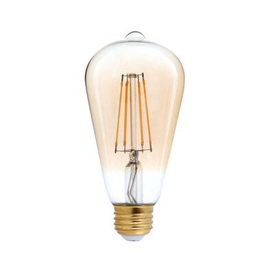40W Equivalent Amber E26 LED Standard Edison Light Bulb
