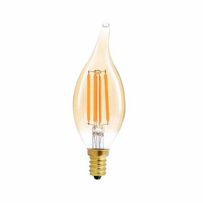 40W Equivalent Amber E12 LED Candle Edison Light Bulb