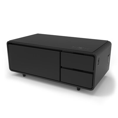 Sobro Coffee Table Color: Black