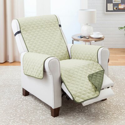 T-Cushion Recliner Slipcover Color: Olive/Sage