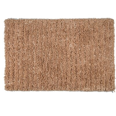 One-of-a-Kind Pickrell Hand-Woven Mocha Area Rug