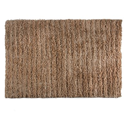One-of-a-Kind Pickrell Hand-Woven Dark Mocha Area Rug